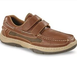 Leather Boat Shoes Slip on Men's shoes